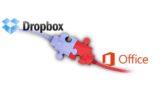 Dropbox intégré à Microsoft office