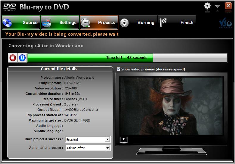 Un convertisseur vidéo pour passer du format Blu-ray au DVD