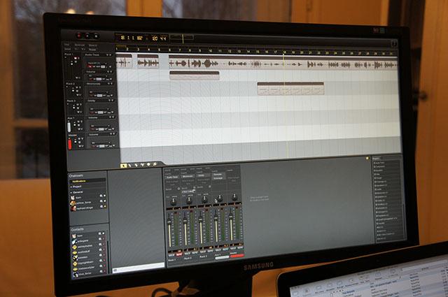 Composez à plusieurs avec le logiciel de musique Ohm Studio