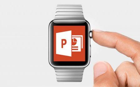 L'Apple Watch devient une télécommande des logiciels Microsoft Office