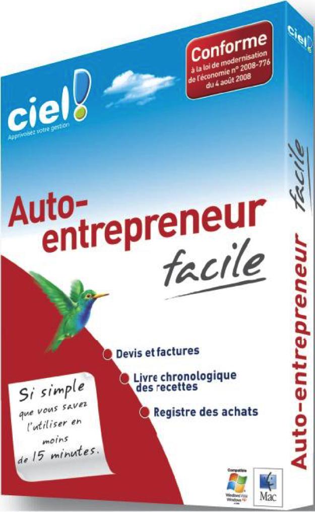 Ciel compta facilite la comptabilité des auto-entrepreneurs