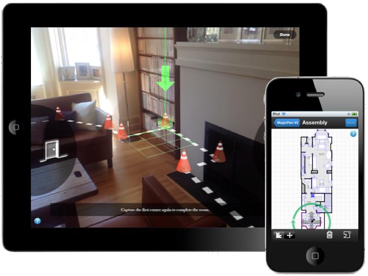 Des applis mobiles pour compléter les logiciels d'architecture