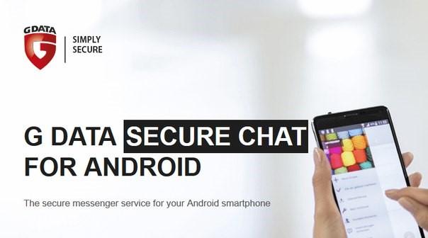 Chattez en toute sécurité sur Android avec G Data Secure Chat